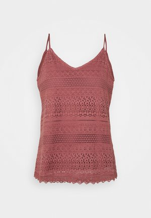 VMHONEY SINGLET - Top - rose brown