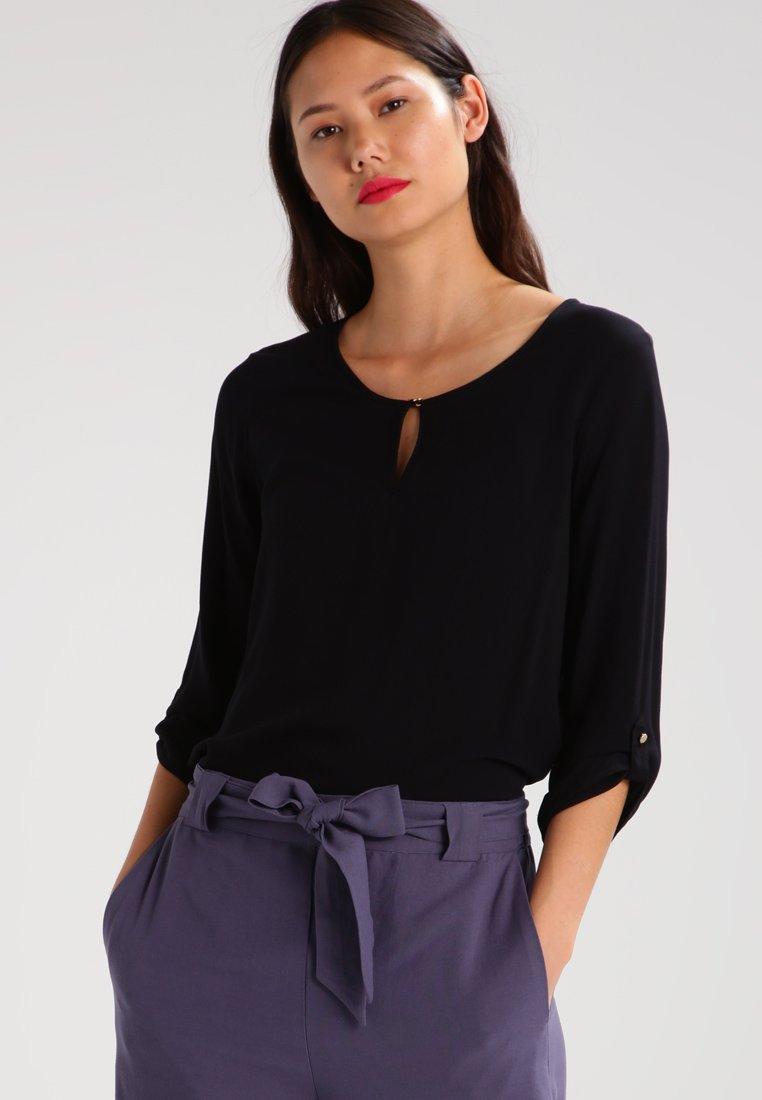 Vero Moda - VMBUCI 3/4 FOLD UP - Bluse - black