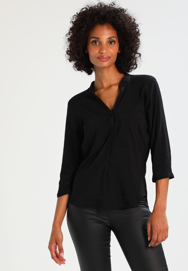 Vero Moda - VMERIKA PLAIN  - Blusa - black
