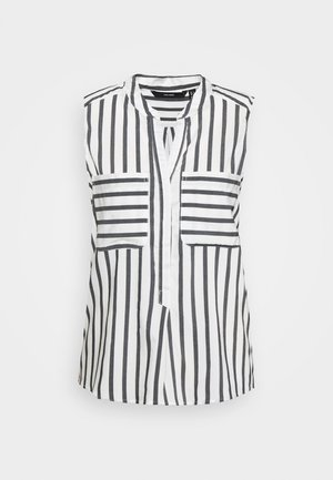 VMERIKA STRIPE - Skjorte - snow white/opposite black