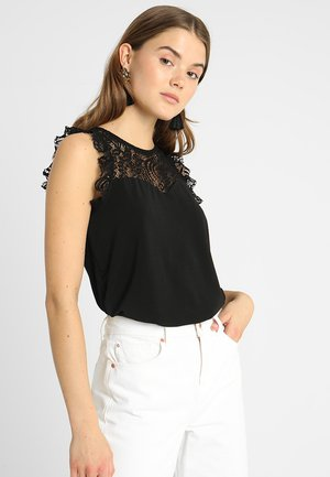 VMALBERTA SWEETHEART  - Blouse - black
