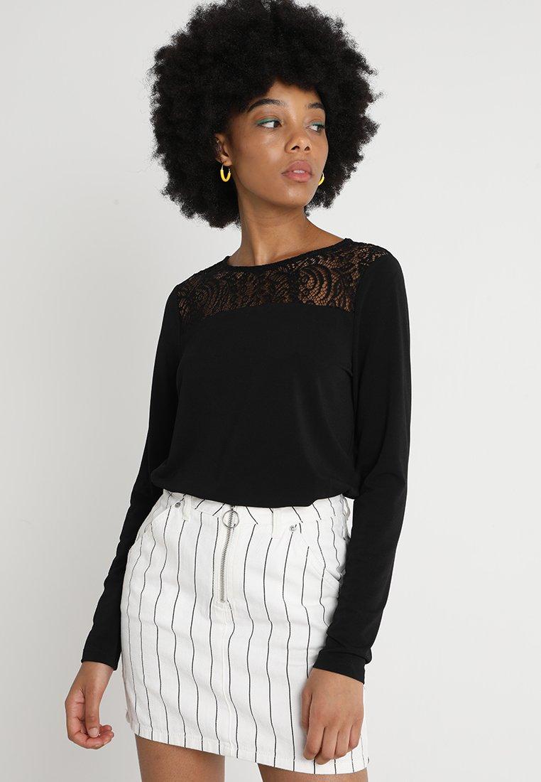 Vero Moda - Långärmad tröja - black