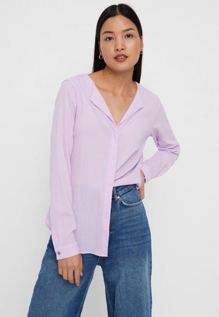 Vero Moda - VMGRACE - Bluse - purple