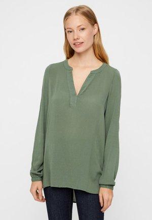 Blus - dark green
