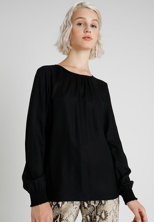 VMCHARLIE O NECK SMOCK - Blůza - black