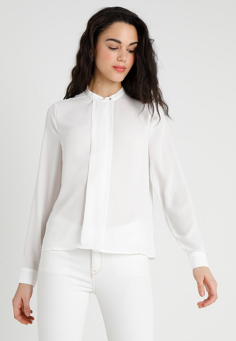 Vero Moda - VMMANJA PLACKET  - Camicia - snow white