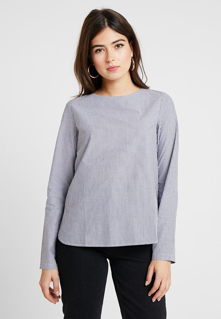 Vero Moda - VMSILJE - Blouse - night sky/white