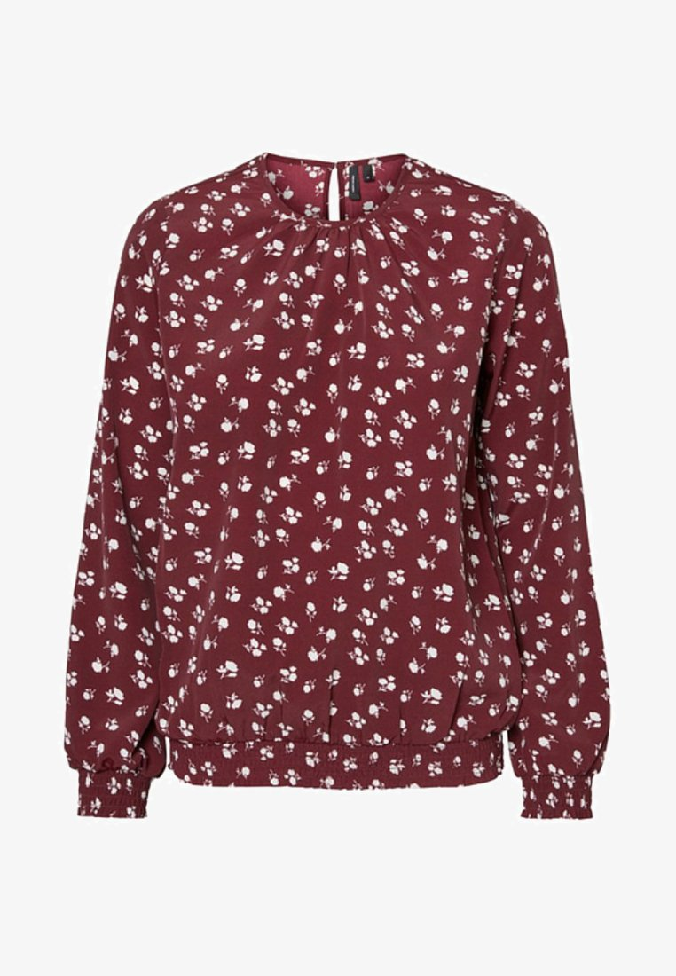 Vero Moda - Bluse - dark red