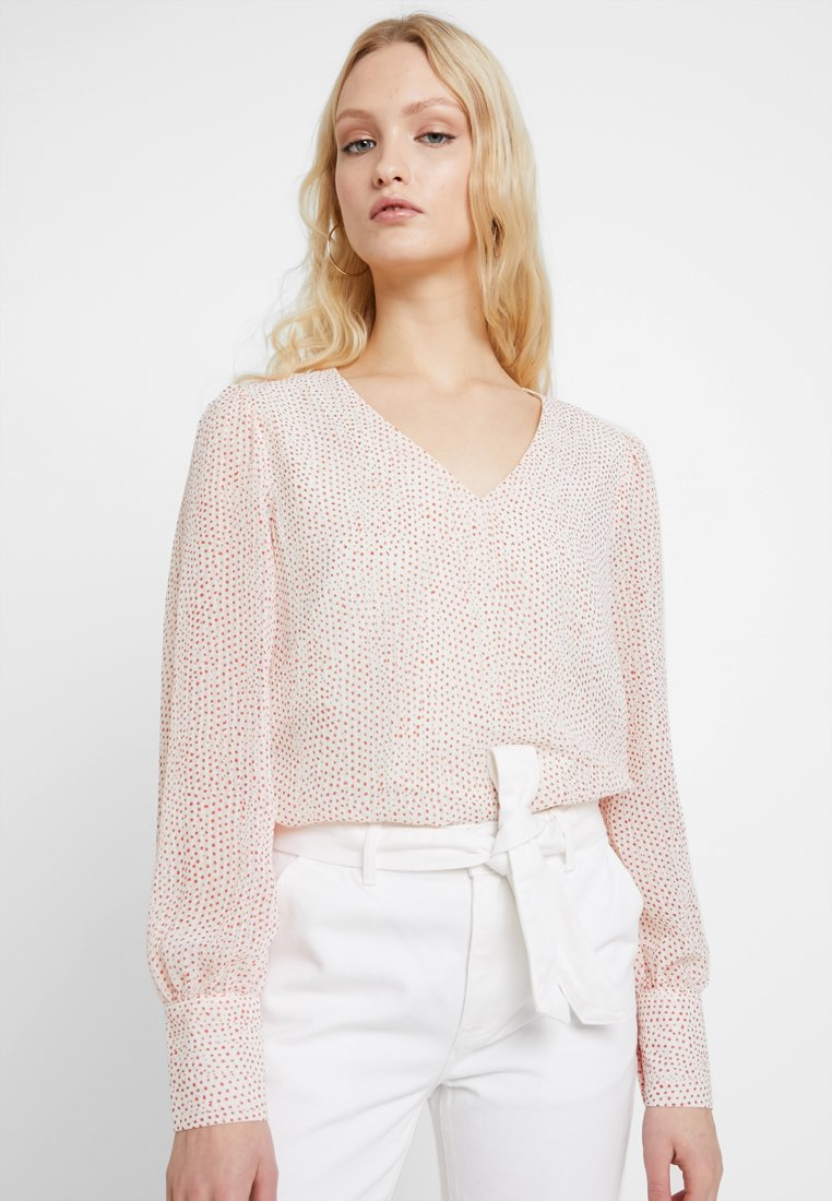 Vero Moda - VMDOTTY - Bluse - pristine/red