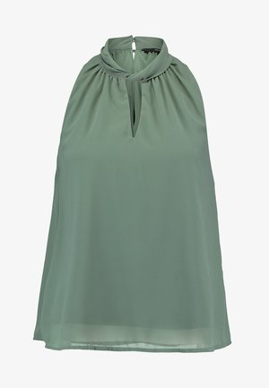 REGULAR FIT - Blouse - dark green