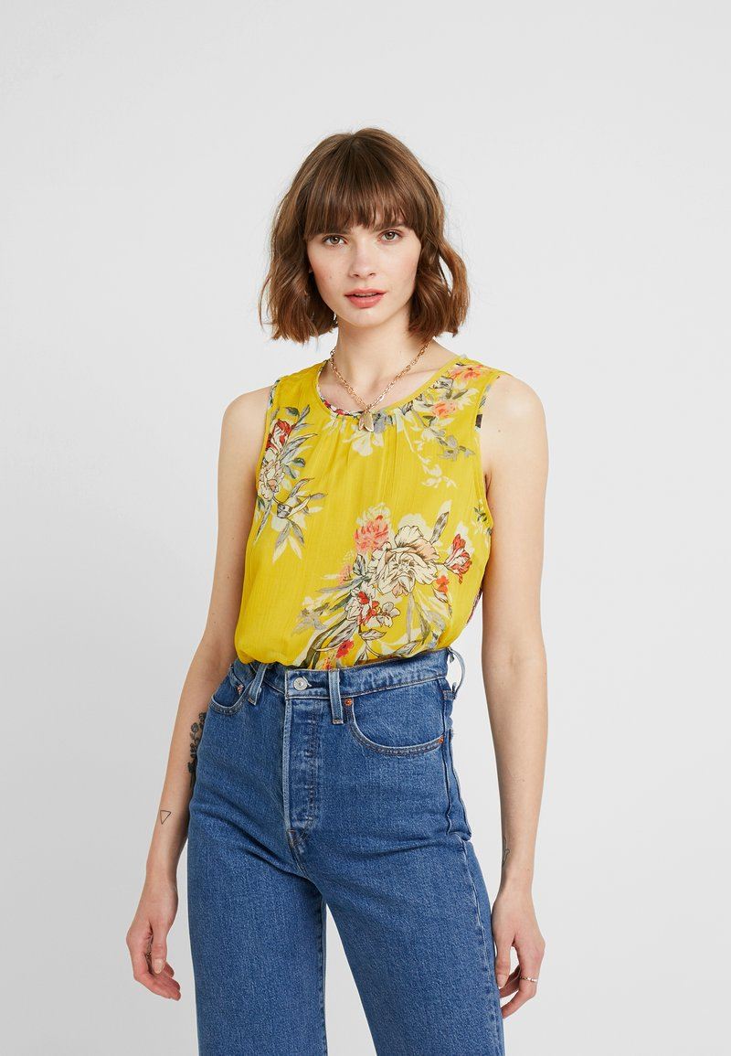 Vero Moda - VMWONDA - Blusa - lemon curry