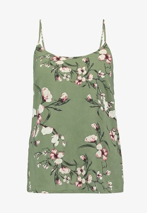 VMSIMPLY EASY SINGLET - Top - oil green