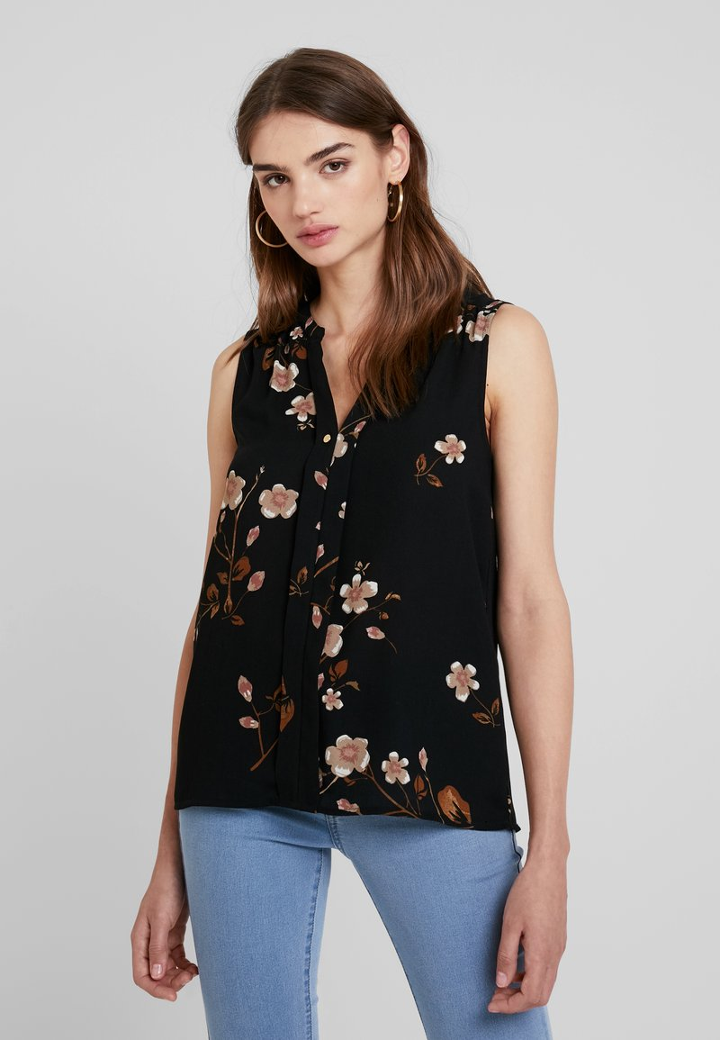 Vero Moda - VMCALLIE MANO - Bluse - black
