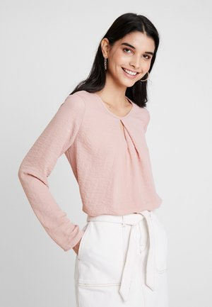 VMZIGGA CUTOUT - Blouse - misty rose