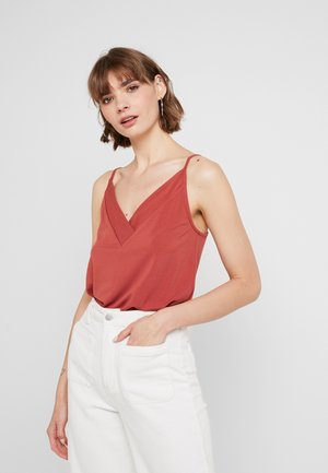 VMALBERTA NECK DETAIL SINGLET  - Top - cowhide
