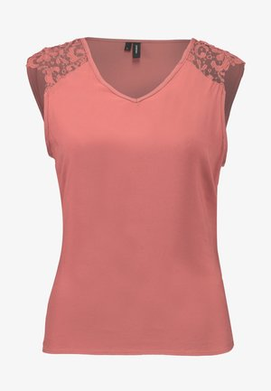 VMDEPO V NECK INSERT - Camicetta - withered rose