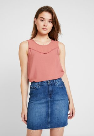 DEPO YOKE BLOUSE - Blouse - withered rose