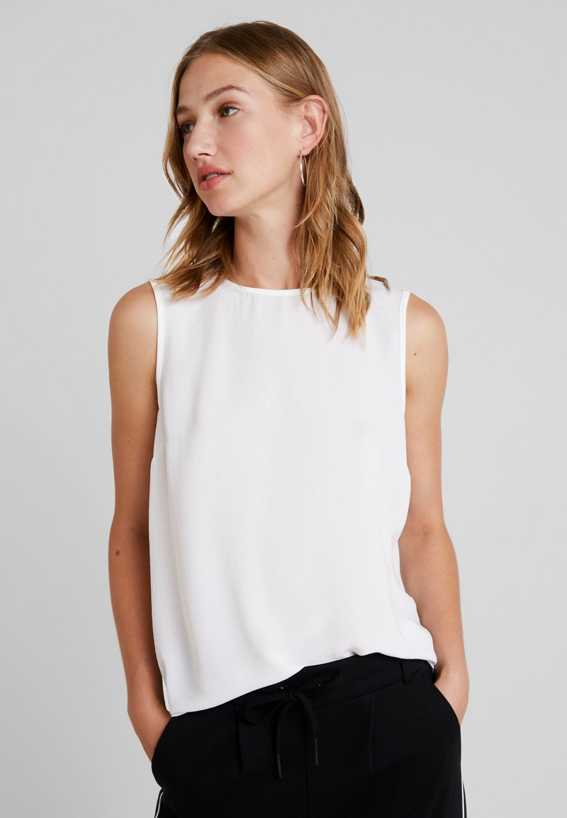 Vero Moda - VMKIMMIE BUTTON - Blouse - snow white