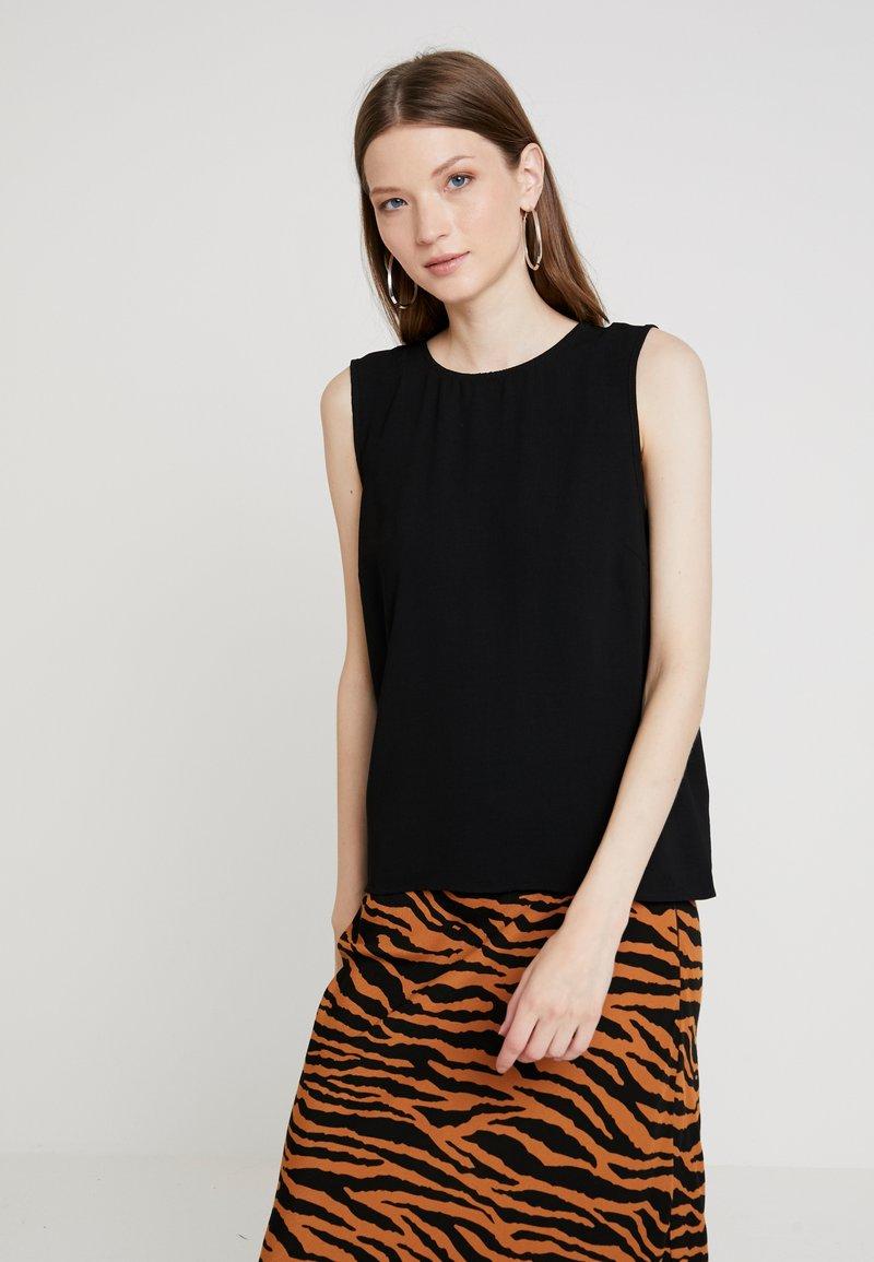 Vero Moda - VMKIMMIE BUTTON - Bluse - black