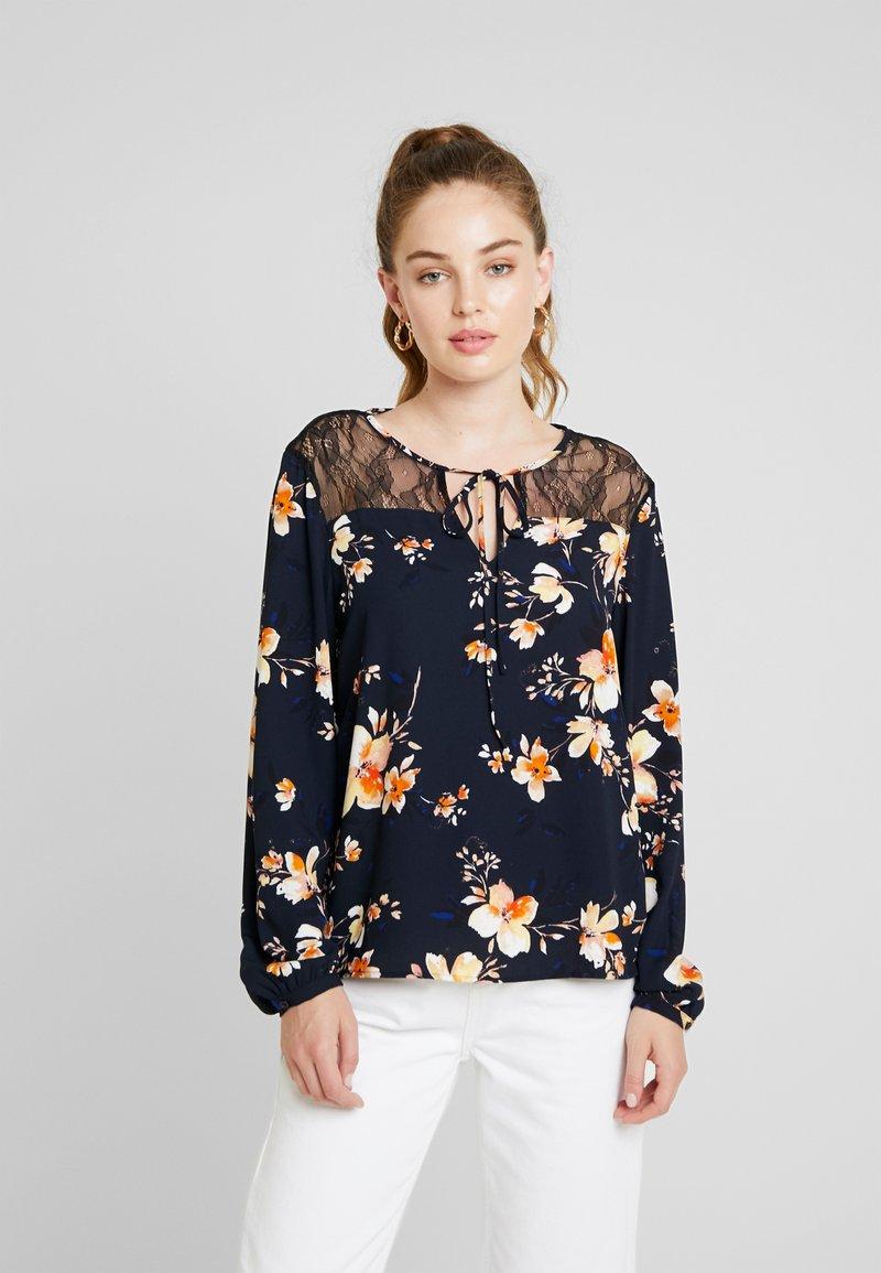 Vero Moda - VMREEDA BLOUSE  - Bluse - navy blazer