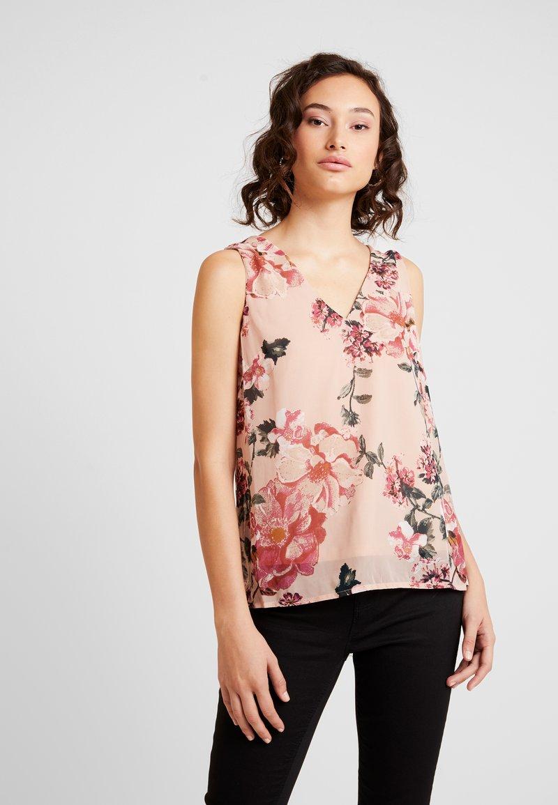 Vero Moda - VMSUNILLA - Bluse - mahogany rose