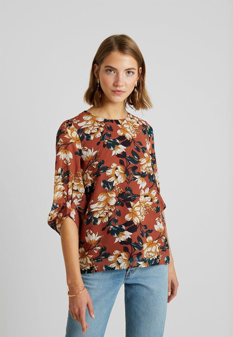 Vero Moda - VMWILMA - Bluse - mahogany