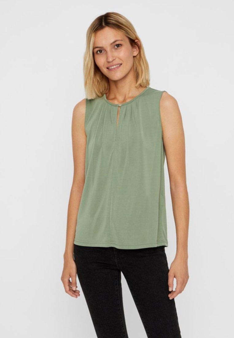 Vero Moda - Bluse - hedge green
