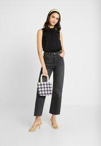 Vero Moda - VMSILLE HIGH NECK - Bluse - black - 1