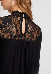 Vero Moda - VMBASHA FUNNEL - Long sleeved top - black - 5
