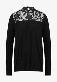 Vero Moda - VMBASHA FUNNEL - Long sleeved top - black - 4