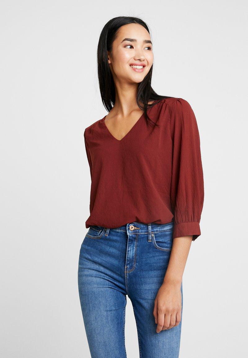 Vero Moda - VMARWEN - Bluse - madder brown