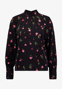 Vero Moda - VMBOLETTE HIGH NECK - Blouse - black/bolette - 3