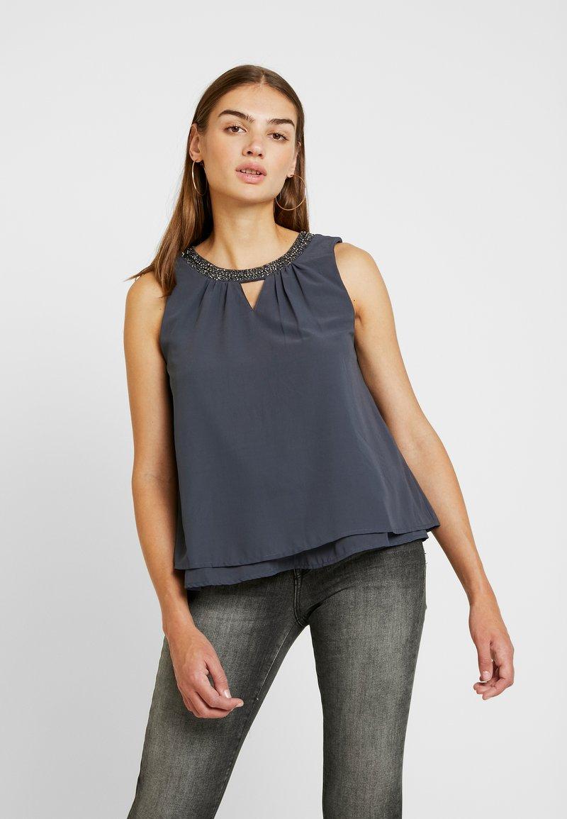 Vero Moda - VMELINA BEAD - Bluse - ombre blue