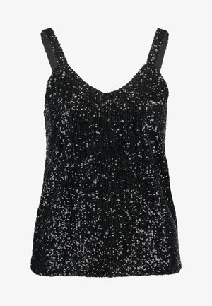 VMMABEL SINGLET - Bluse - black