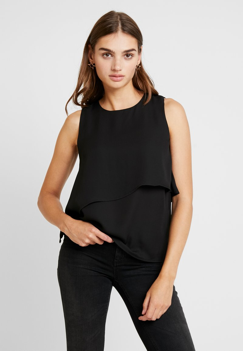 Vero Moda - VMROSIE LAYER - Blouse - black