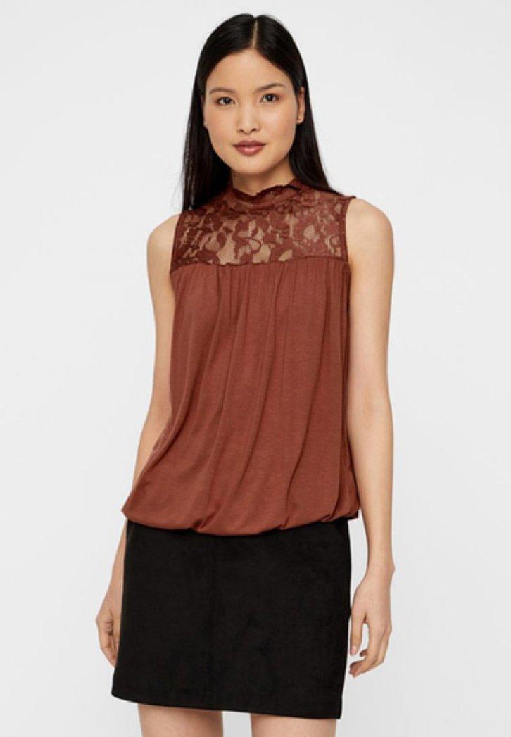 Vero Moda - Bluse - brown