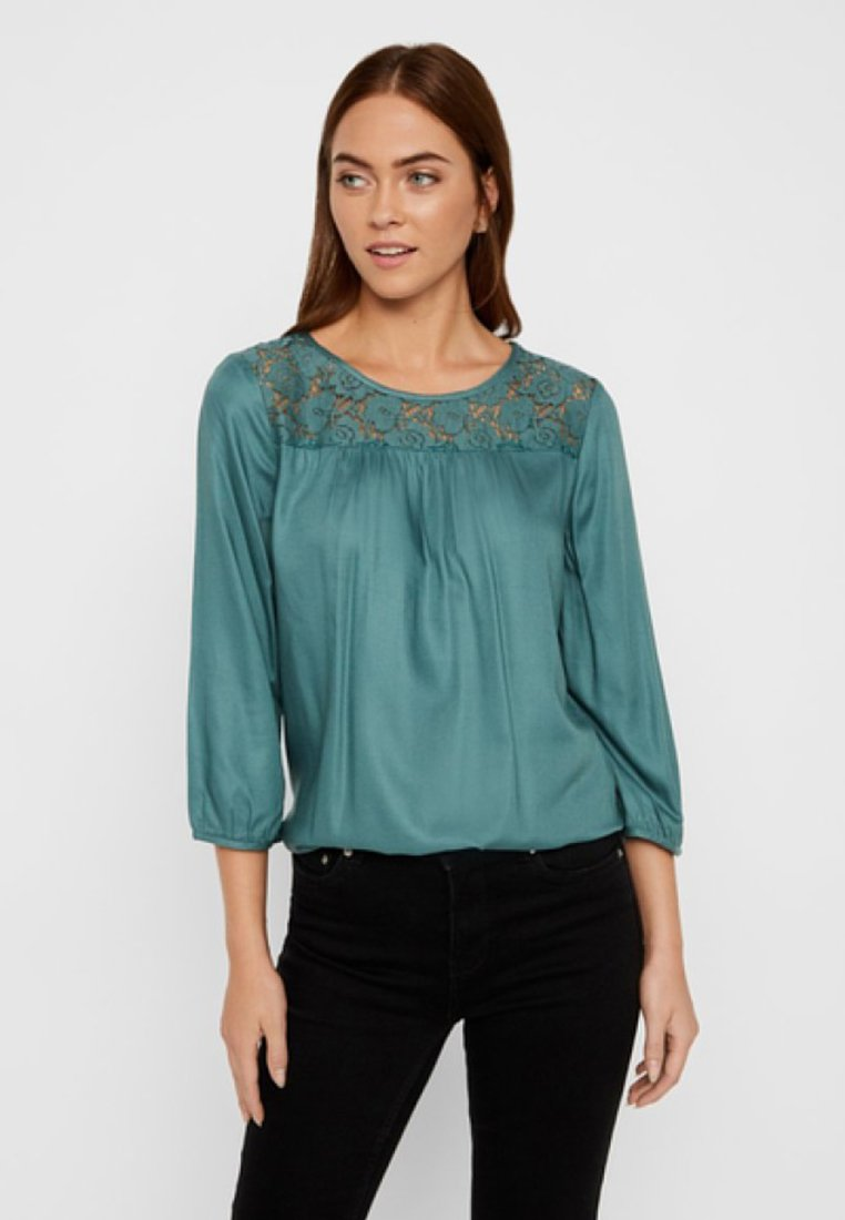 Vero Moda - Bluse - north atlantic