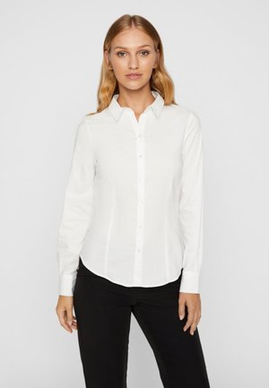 LONG SLEEVE - Camicia - bright white