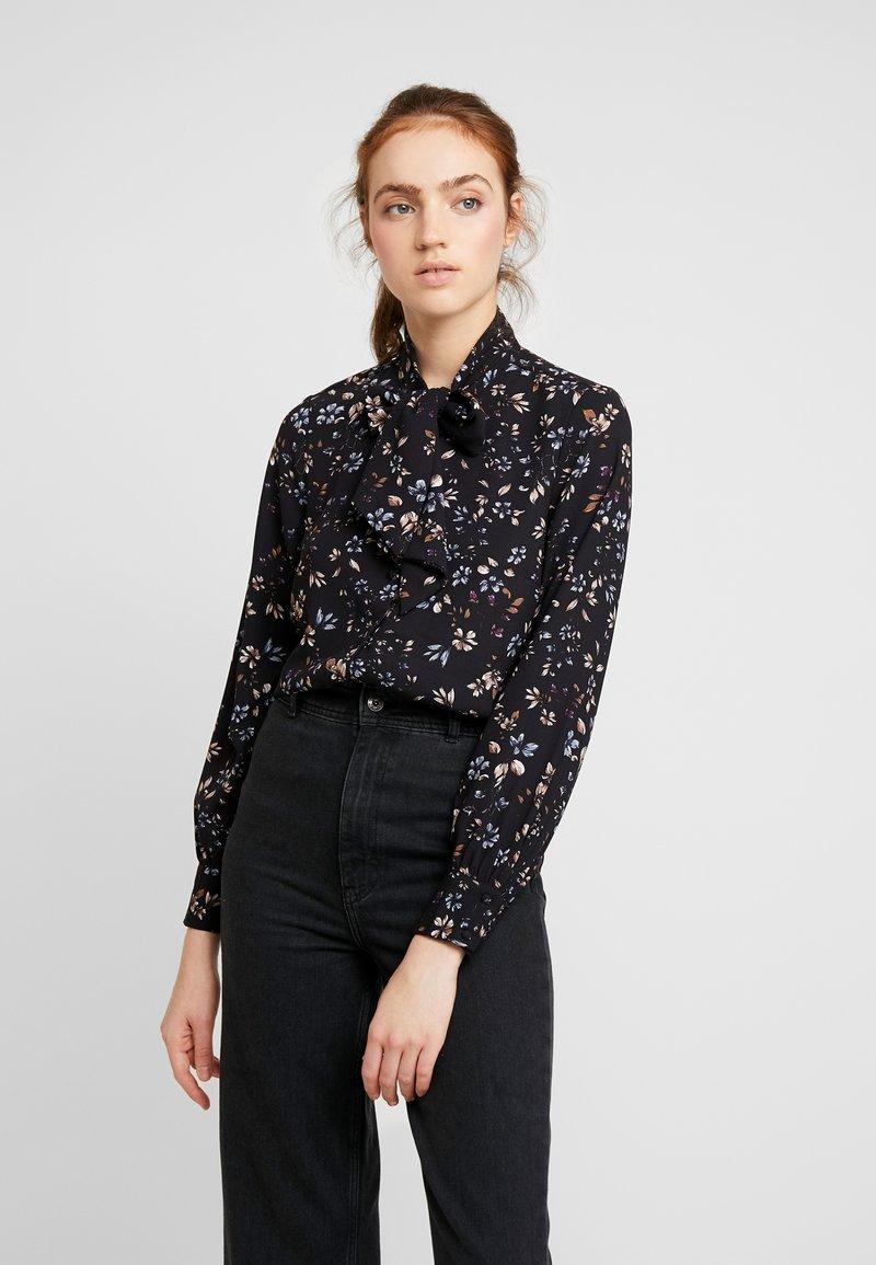 Vero Moda - VMMYRANDA TIE - Košile - deep well/myranda