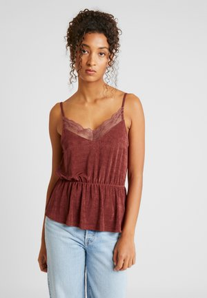 VMDOREEN SINGLET - Top - madder brown