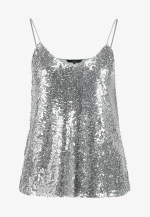 VMPEARL SINGLET - Blus - silver