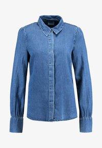 Vero Moda - VMELSA REGULAR PUFF - Camicia - medium blue denim - 4