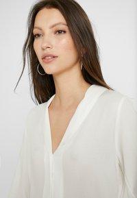 Vero Moda - VMJORDAN SHIRT - Button-down blouse - snow white - 3