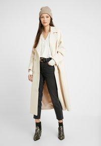 Vero Moda - VMJORDAN SHIRT - Button-down blouse - snow white - 1