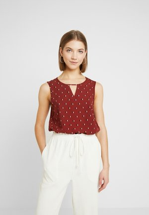 VMSINE - Blusa - madder brown/hally