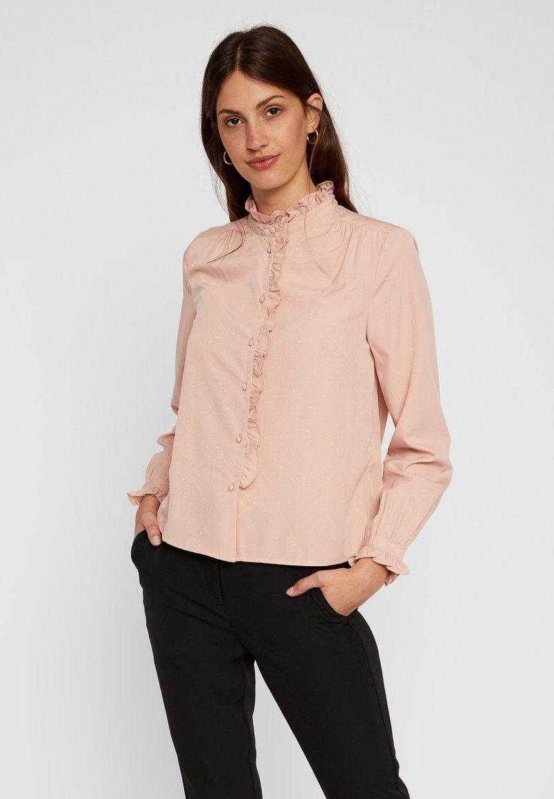 Vero Moda - Skjortebluser - misty rose