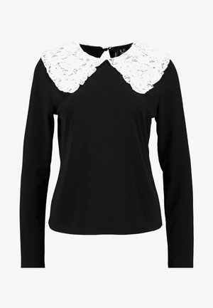 VMTERESSA COLLAR - Camicetta - black/white