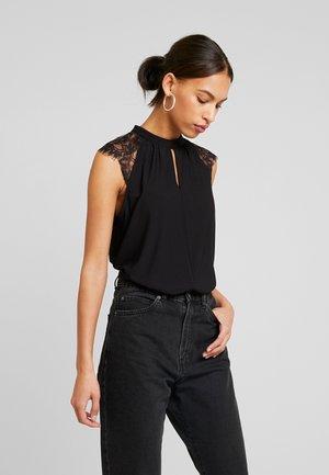 VMMILLA TEE - T-shirt z nadrukiem - black
