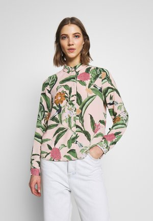 VMLUCIA - Button-down blouse - sepia rose