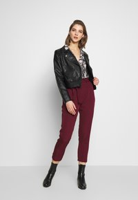 Vero Moda - VMLUCIA - Button-down blouse - black - 1
